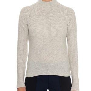 Vince Mock Neck Cashmere Sweater